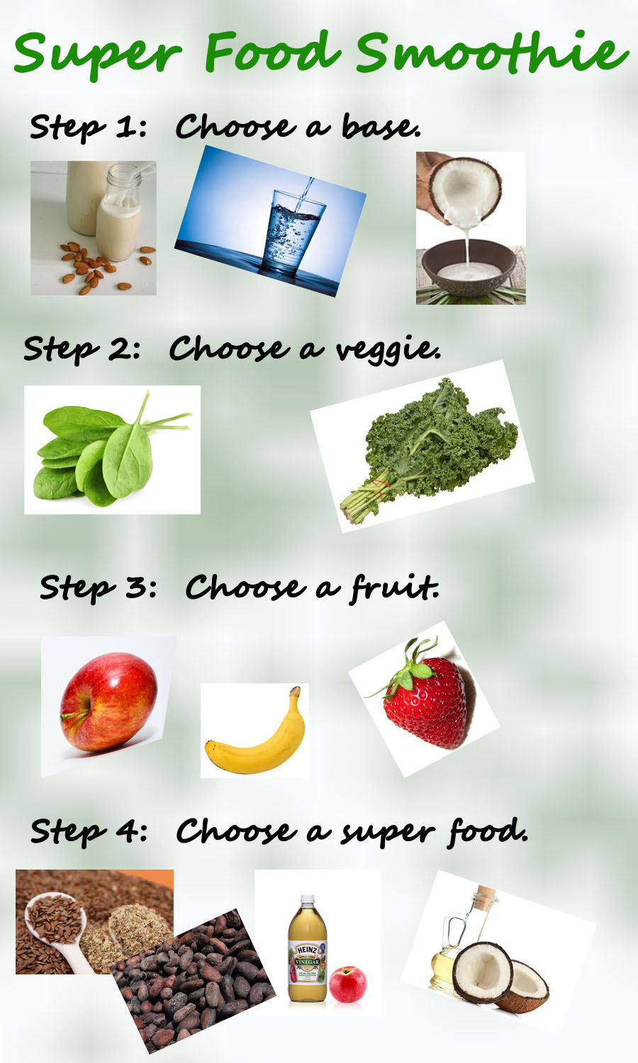 how to super food smoothie