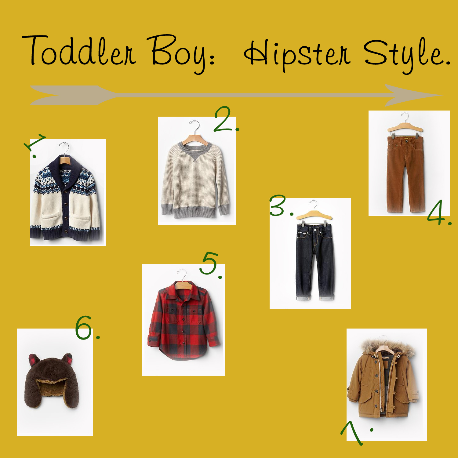 Toddler Boy Hipster Style